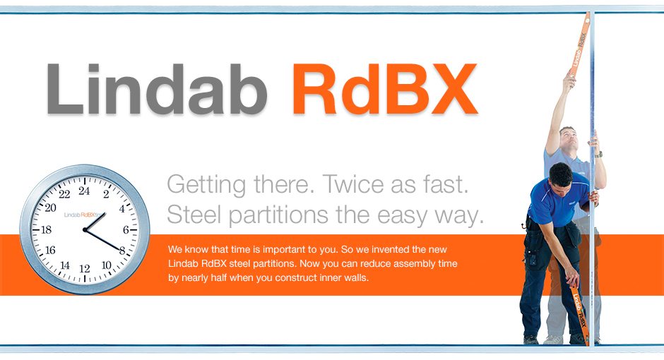 RdBX - Steel partitions the easy way